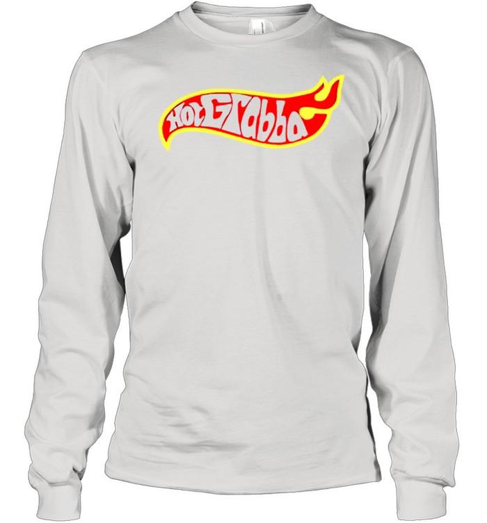 Hot grabba hot wheels shirt Long Sleeved T-shirt
