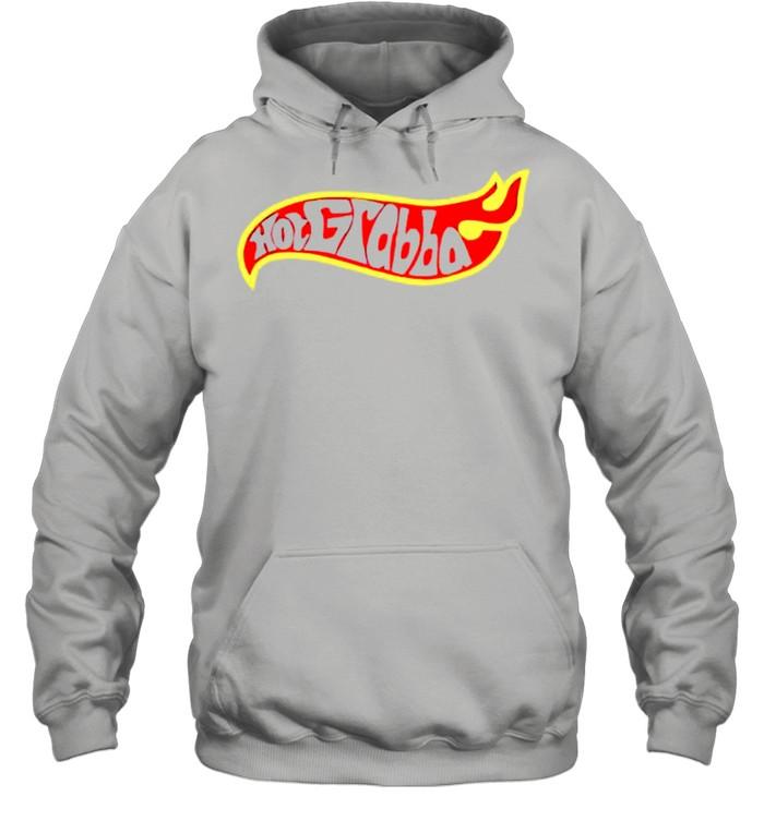 Hot grabba hot wheels shirt Unisex Hoodie