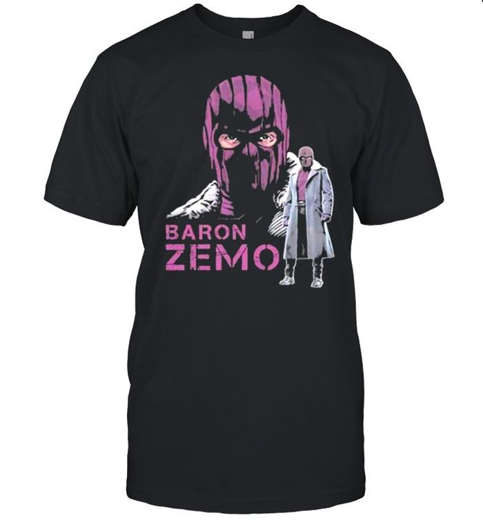 Baron zemo marvel shirt