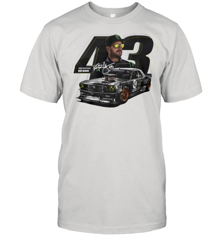 Ford mustang Ken Block signature shirt