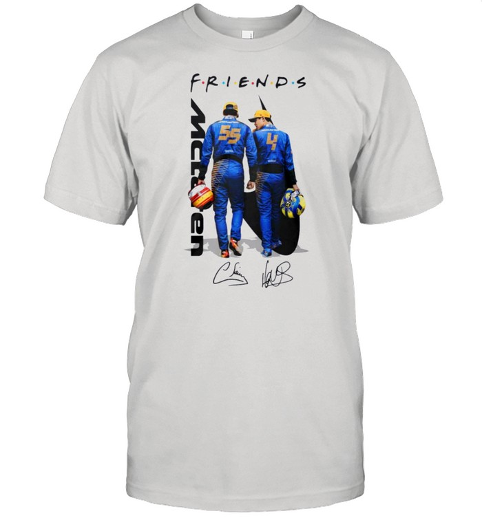 Mclaren friend signatures shirt