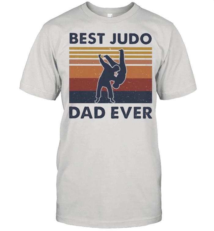 Best Judo Dad Ever Vintage Shirt