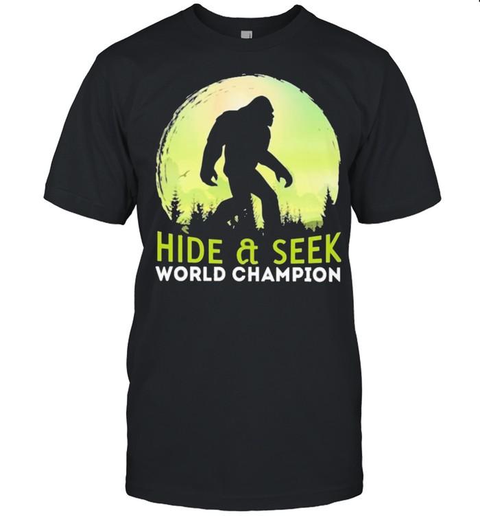 Hide seek world champion camping shirt