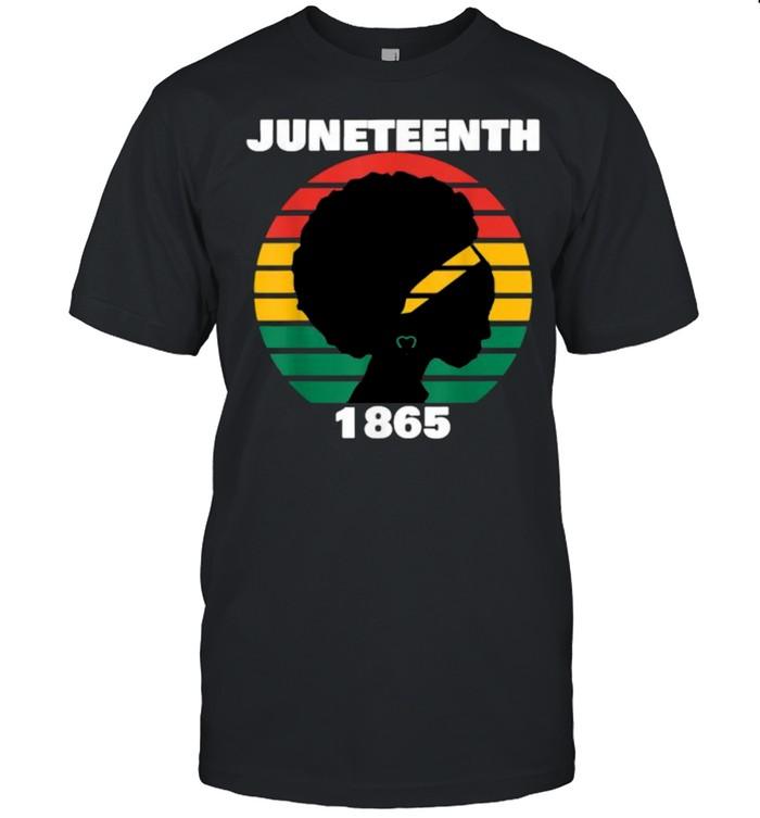 Juneteenth 1865 Queen Melanin Vintage T-Shirt