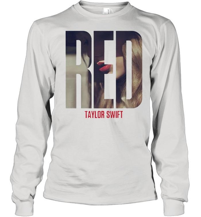 Taylor Swift red album shirt Long Sleeved T-shirt