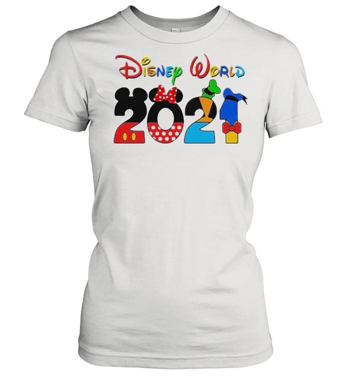 Disney world 2021 shirt Classic Women's T-shirt