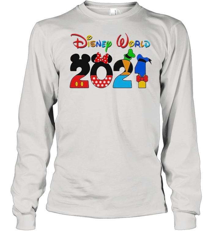 Disney world 2021 shirt Long Sleeved T-shirt
