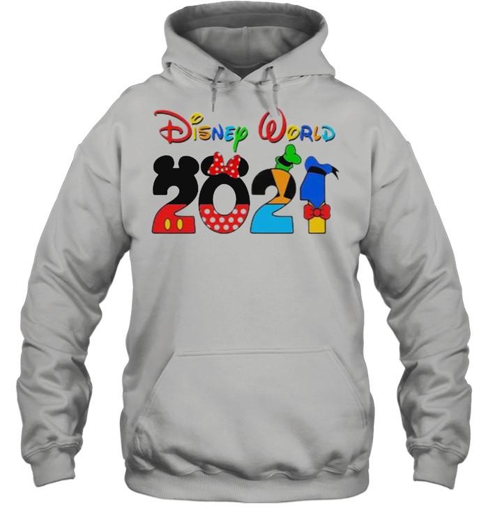 Disney world 2021 shirt Unisex Hoodie