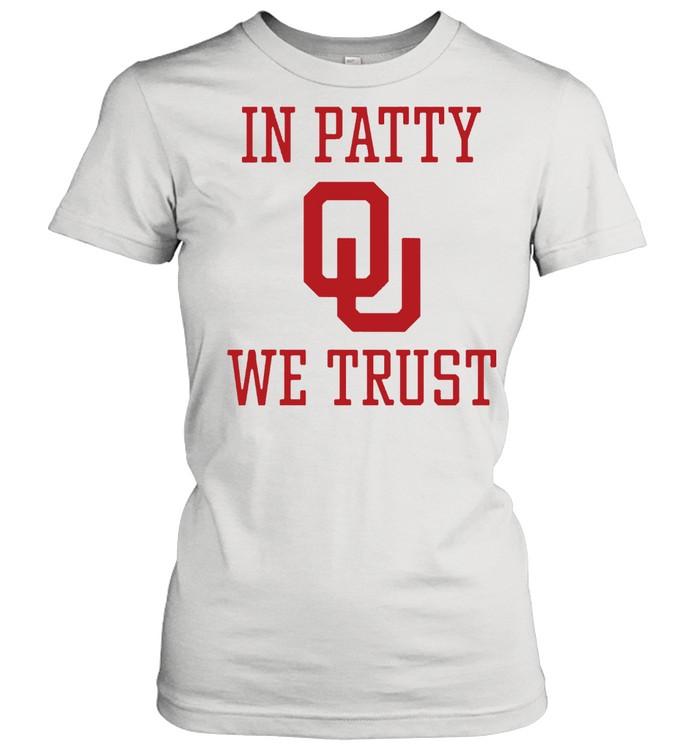 In Patty We Trust shirt Classic Women's T-shirt