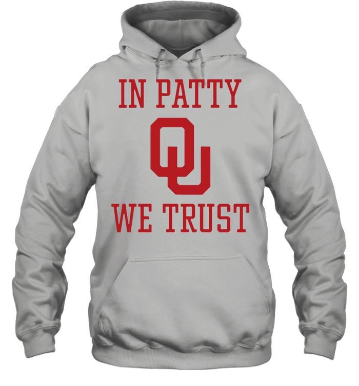 In Patty We Trust shirt Unisex Hoodie