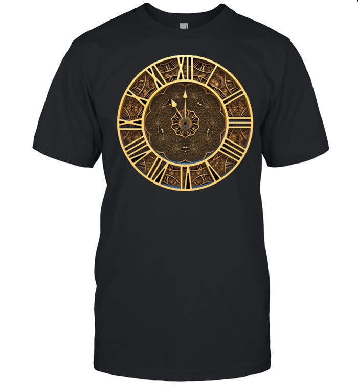 Steampunk Retro Vintage Rusty Art Deco Clock shirt