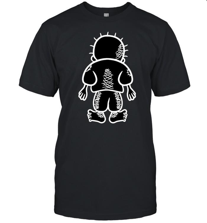 Palestinian Handala Kid Vector Drawing New T-shirt