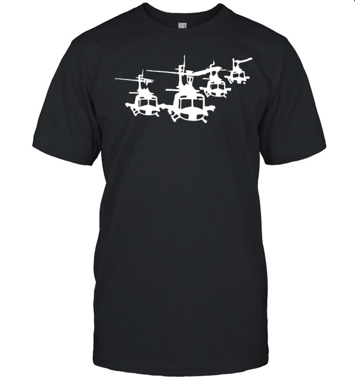 Huey Helicopter Shirt
