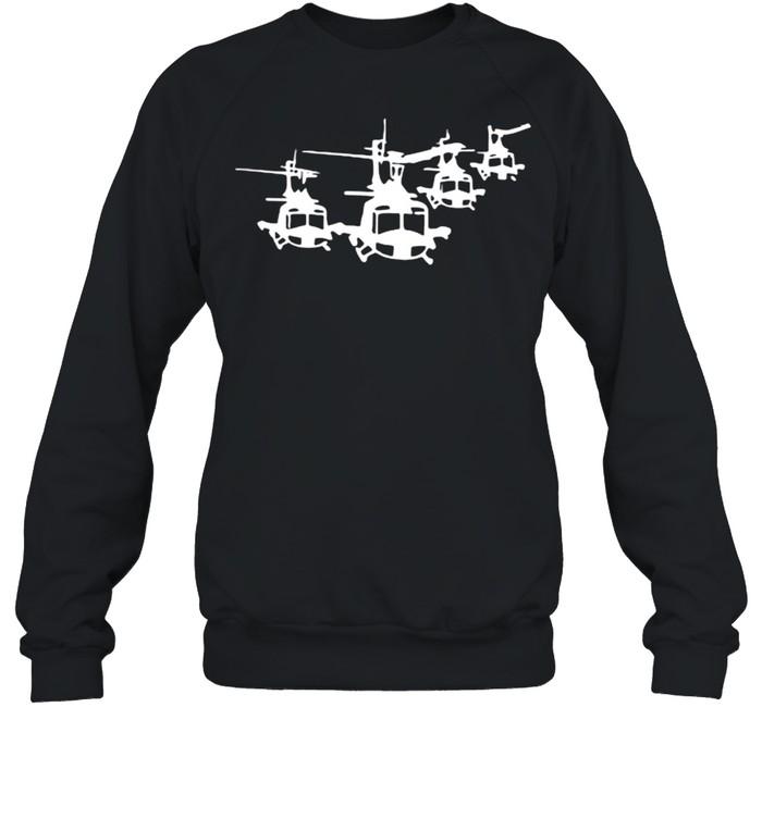 Huey Helicopter Unisex Sweatshirt