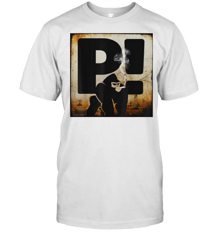 Bigfoot Smoking Rapper Sean T-Shirt