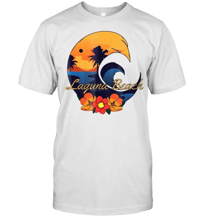 Laguna Beach Surf Tee Shirt