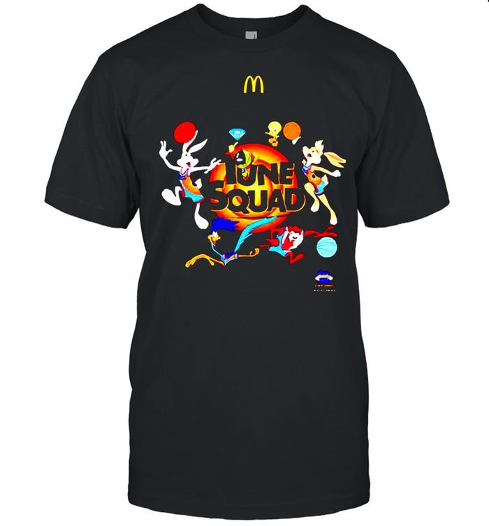 Tune Squad McDonald's and Diamond Supply Co shirt
