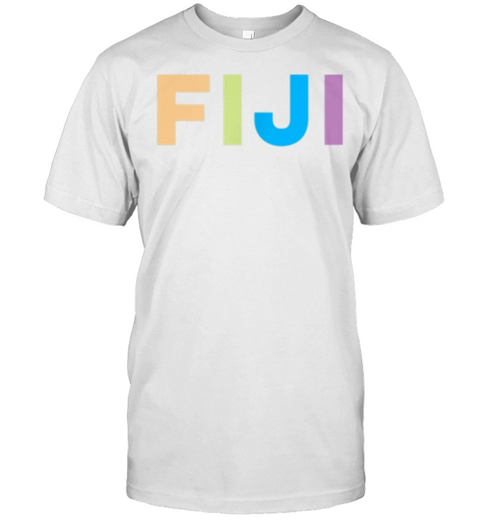 Fiji Colorful Vacation shirt
