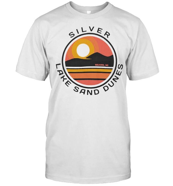 Silver Lake Sand Dunes Vintage Art shirt