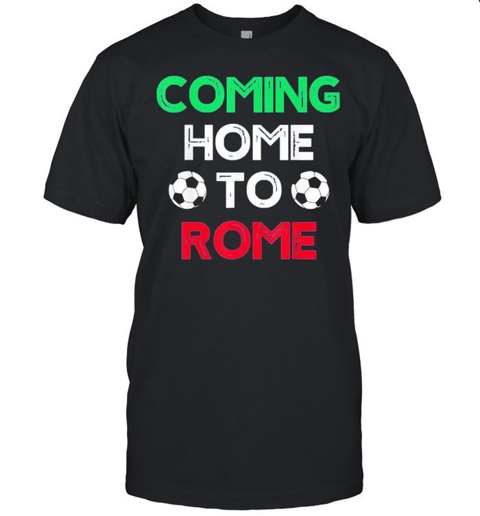 Coming Home To Rome Italia 2021 Italia Champions Football shirt