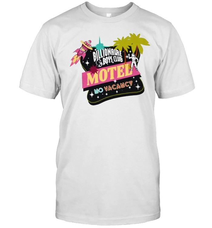Billionaire Boys Club motel no vacancy shirt