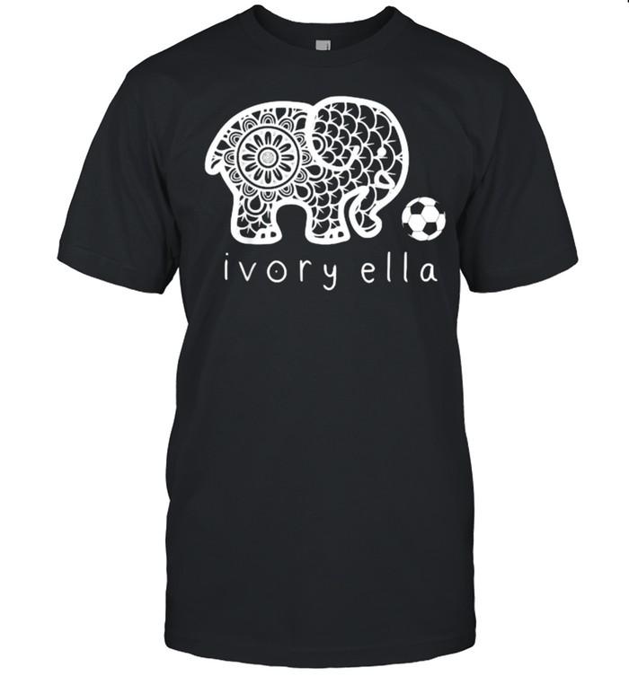 Ivorys Ellas Elephant Soccer T-Shirt