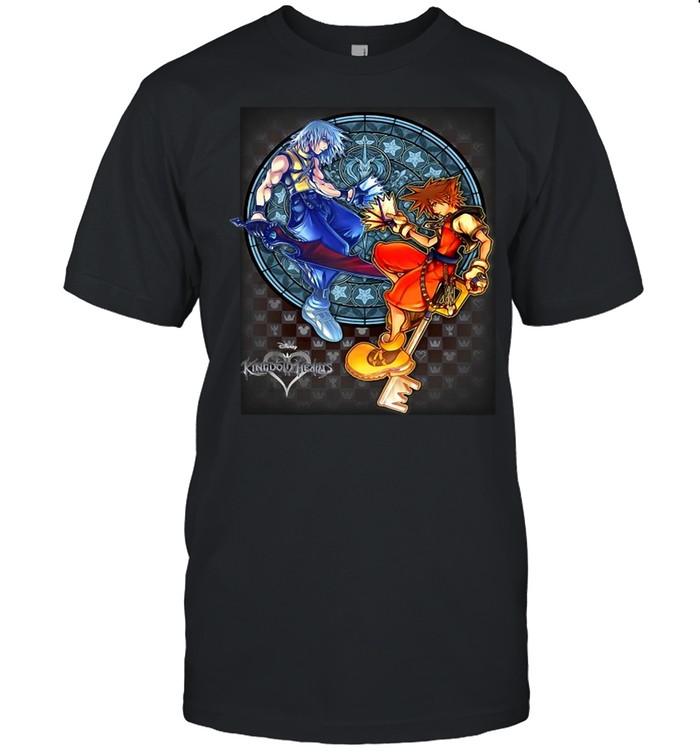 Kingdom Hearts Sora – Riku Chain Of Memories T-shirt