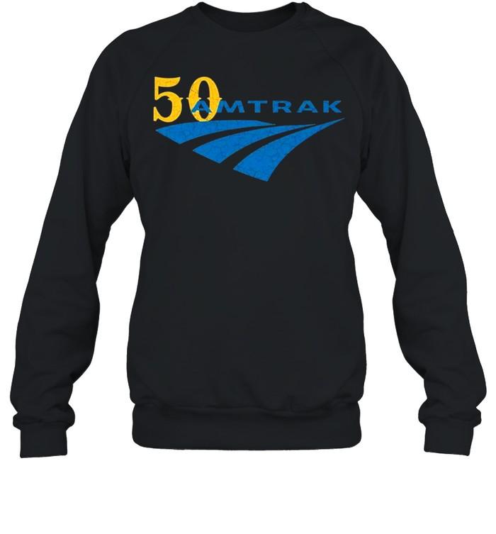 For 50 years Amtrak logo shirt Unisex Sweatshirt