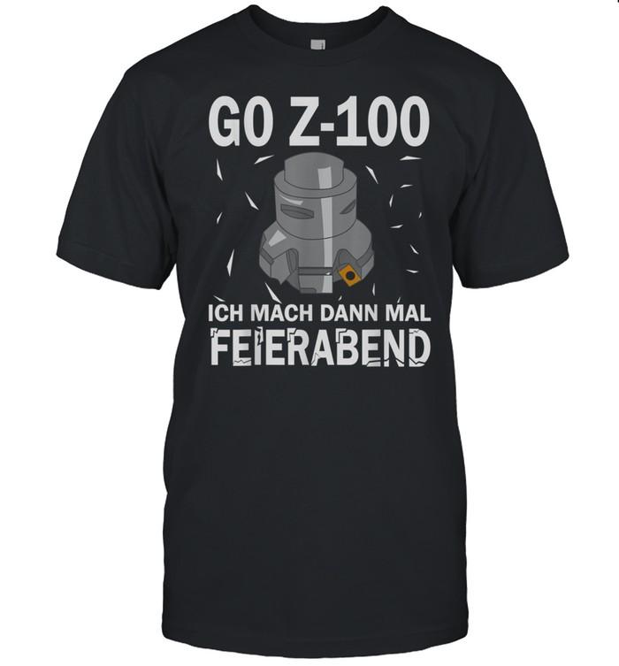 G0 Z100 CNC Milling Cutter's shirt