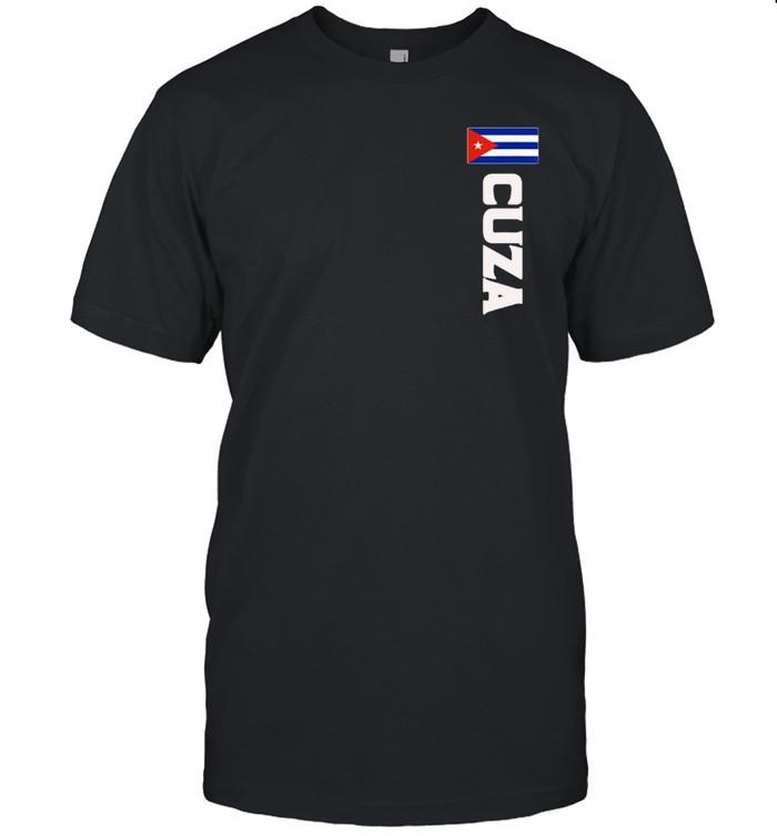 Cuza Last Name Cuban, And shirt