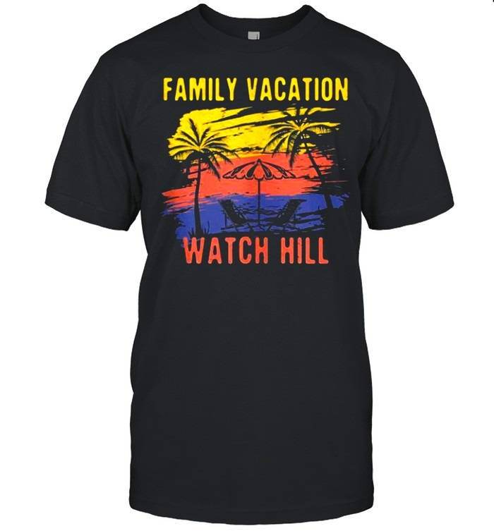 Family Vacation Watch Hill Holiday Rhode Island Festival shirt