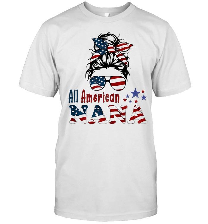 Girl Bandana All American NaNa shirt