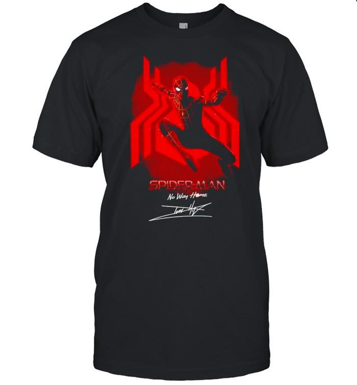 Marvel Spider Man No Way Home signature shirt