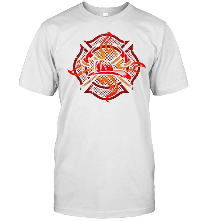 Fire Fighter Crest Firefighting Medic Pride T-shirt