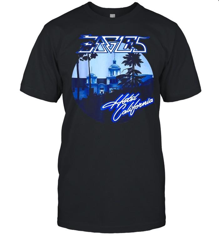 Eagles Love Hotels California Band Music 50th YearsT-Shirt