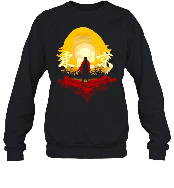 Tokyo Revengers Mikey Sano Manjiro Tokyo Manji Gang T-shirt Unisex Sweatshirt