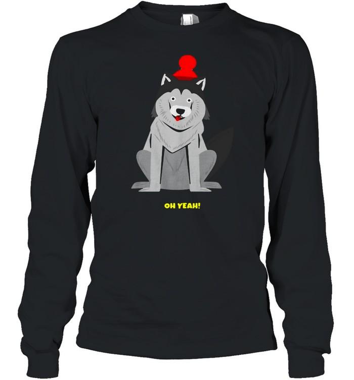 Dachshund Dog Oh Yeah T-shirt Long Sleeved T-shirt