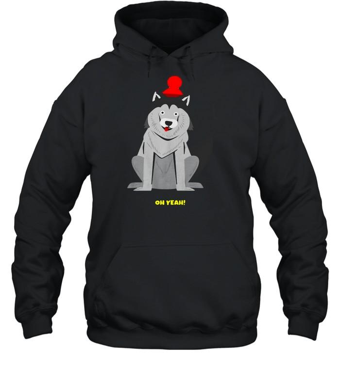 Dachshund Dog Oh Yeah T-shirt Unisex Hoodie