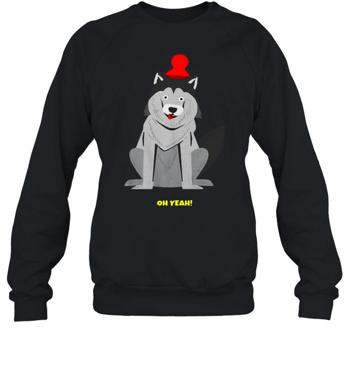 Dachshund Dog Oh Yeah T-shirt Unisex Sweatshirt