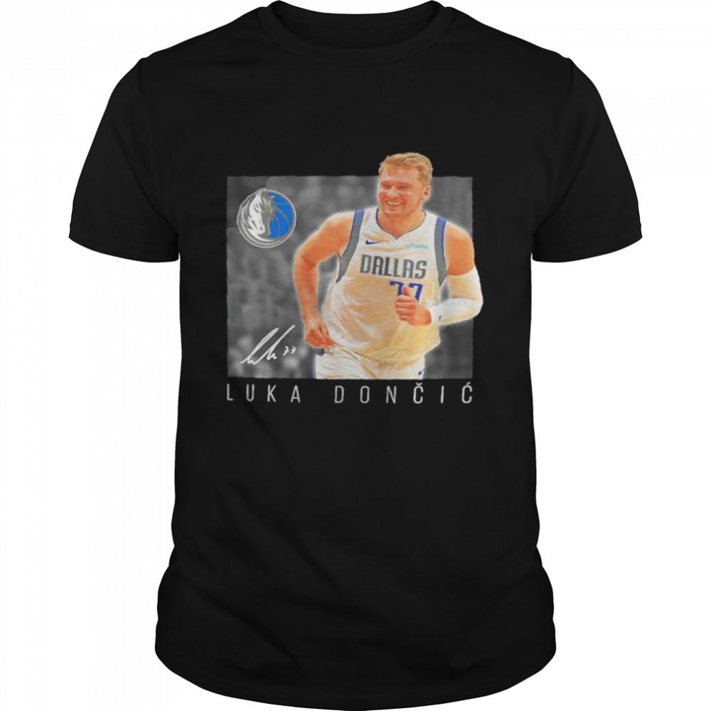 Luka Doncic Dallas Mavericks heroes player signature shirt