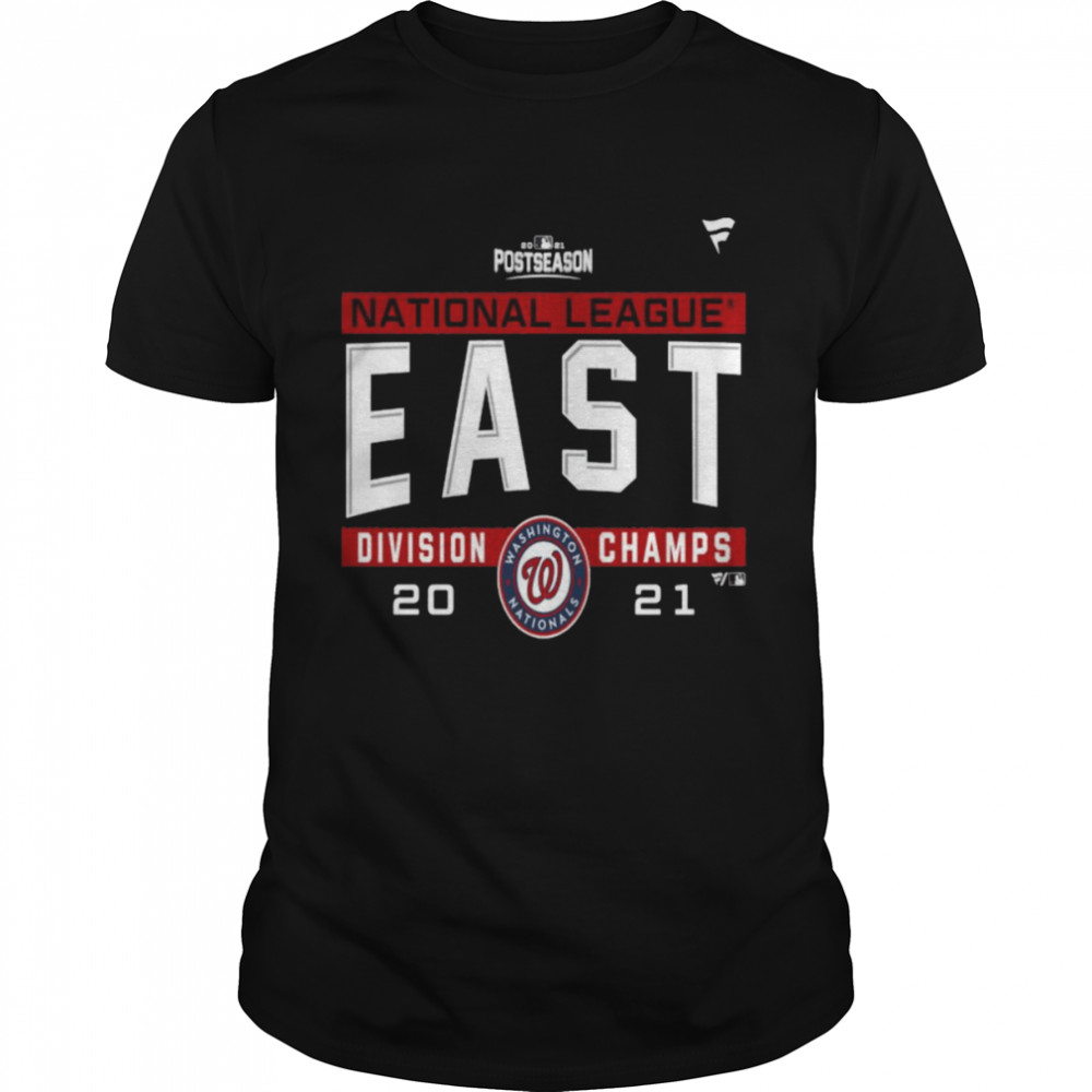 Washington Nationals National League NL East Division Champions 2021 sport shirt