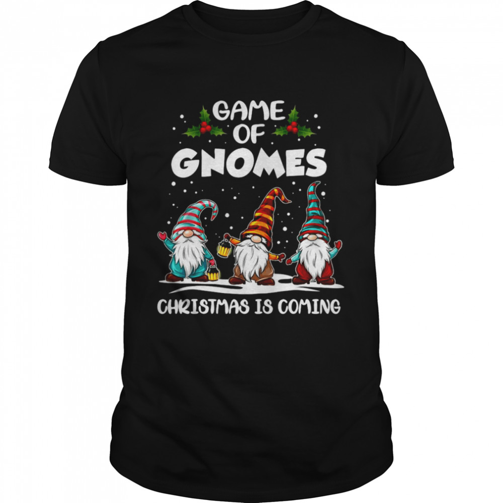 Sweater Game Of Gnomes Christmas Is Coming Crewneck Shirt