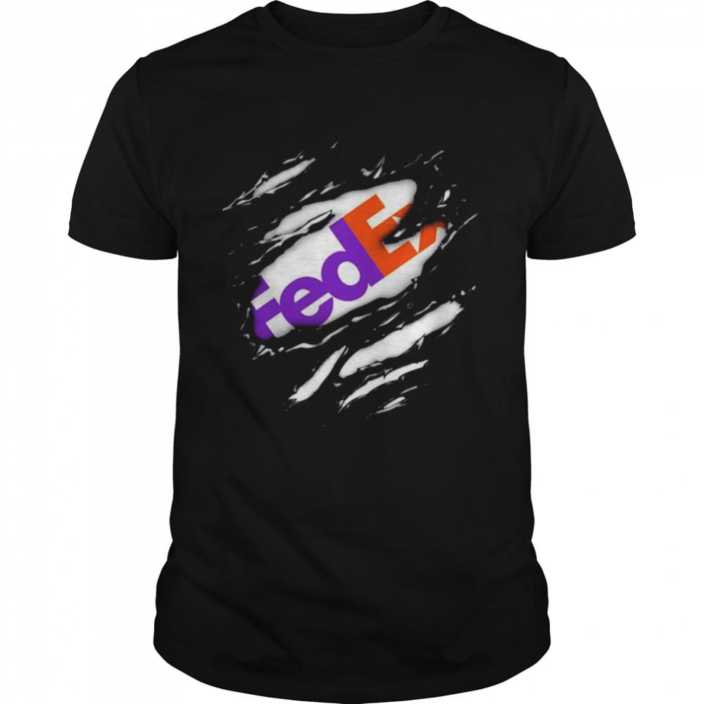 Blood Inside Me Fedex Logo Shirt