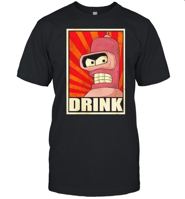 Official bender drink shirt