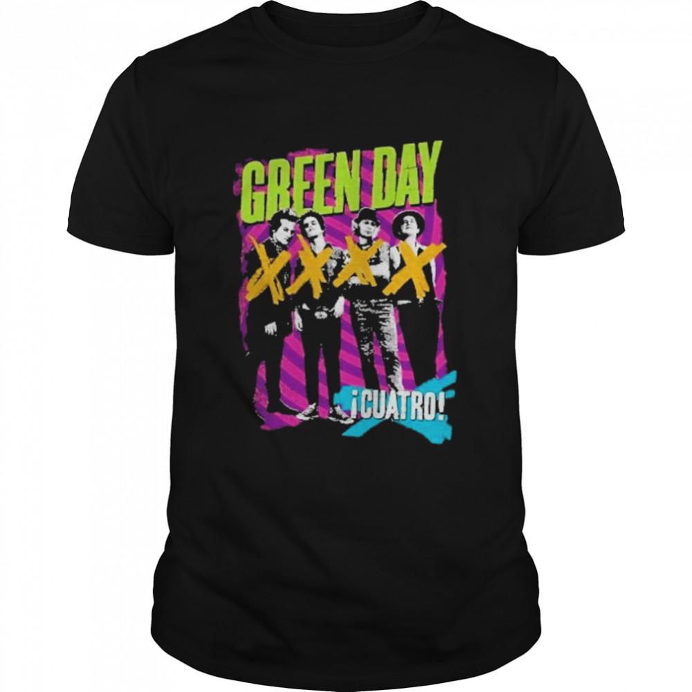 Green Day 'Cuatro Hypno Four' Shirt
