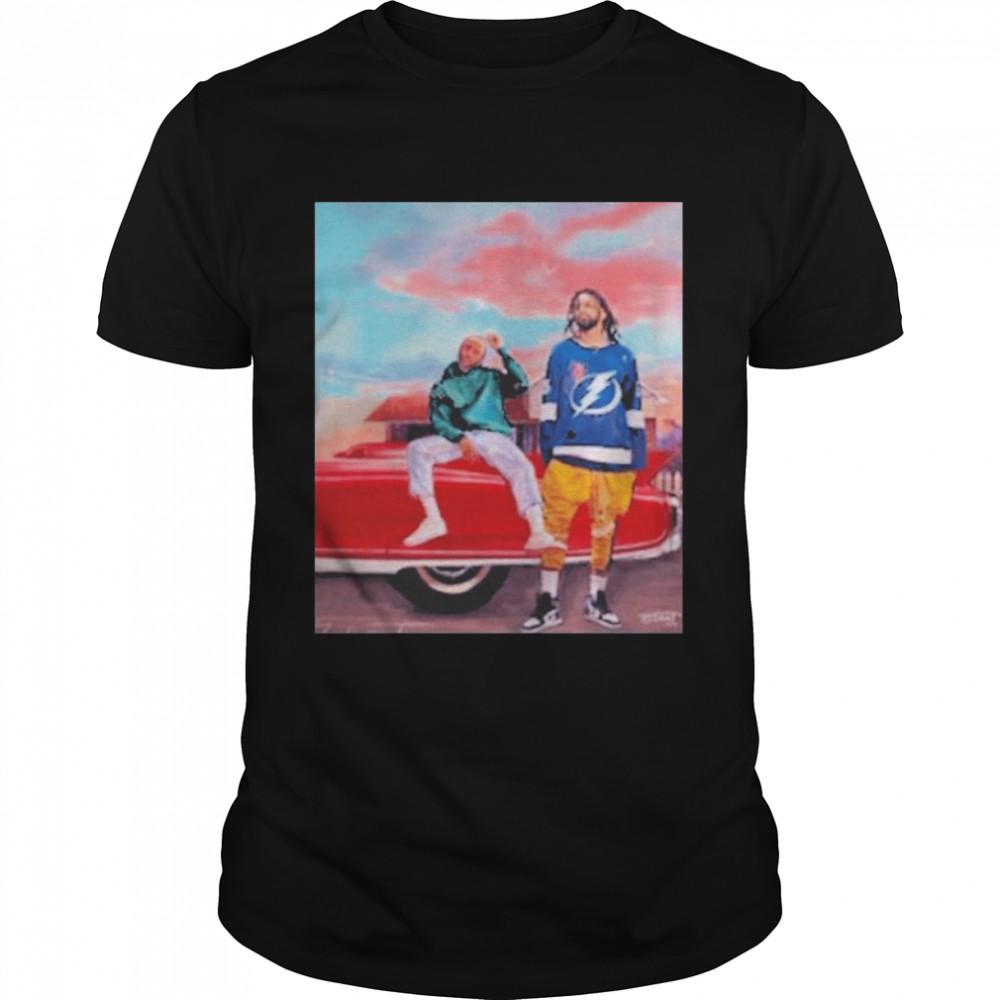 J.Cole Kendrick Lamar Crewneck Shirt
