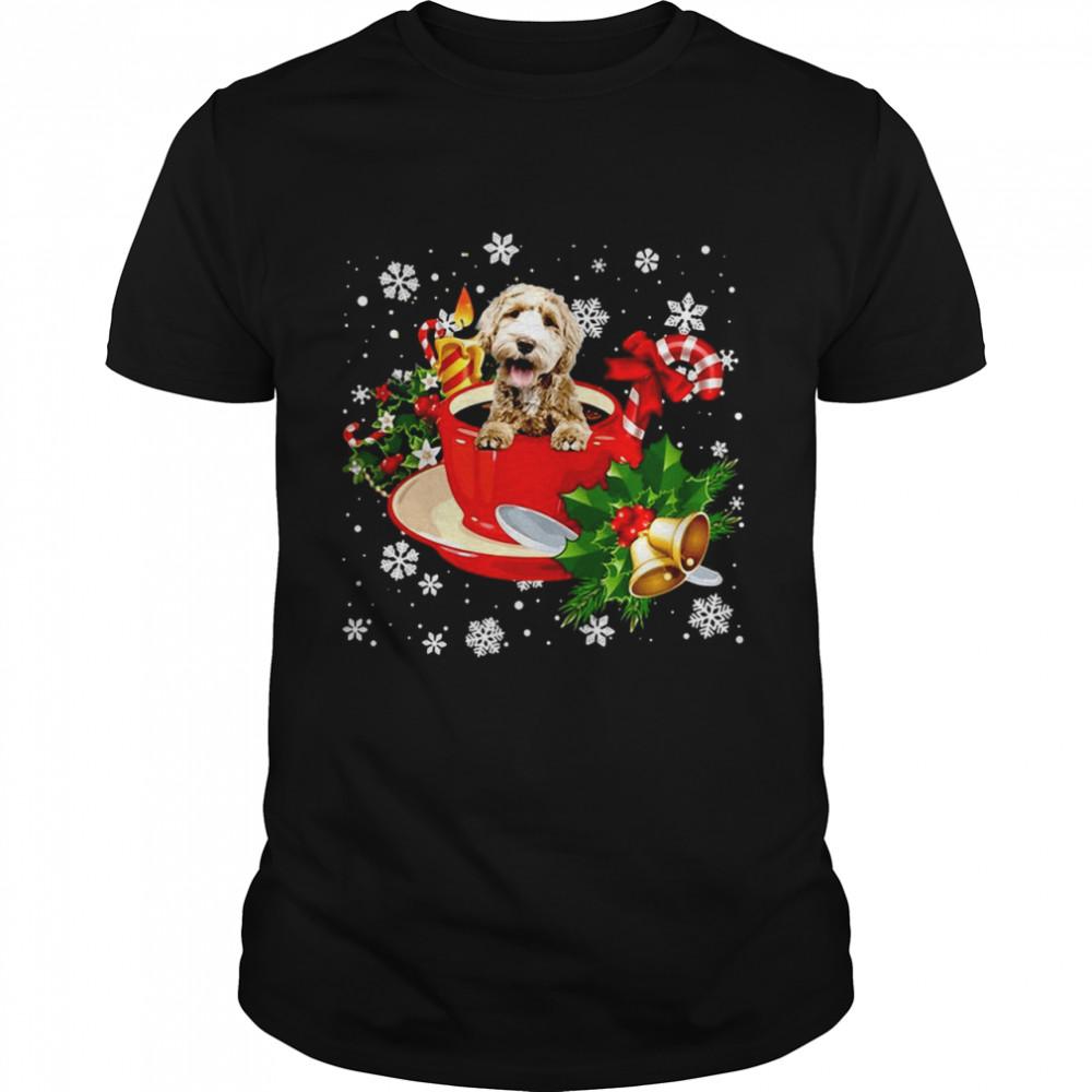 Labradoodle Christmas Dog Shirt