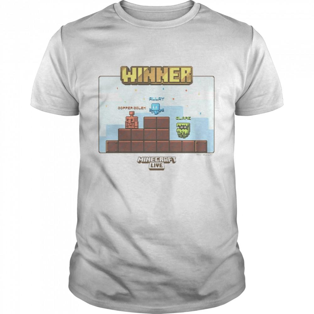 Minecraft Live Allay Winner shirt