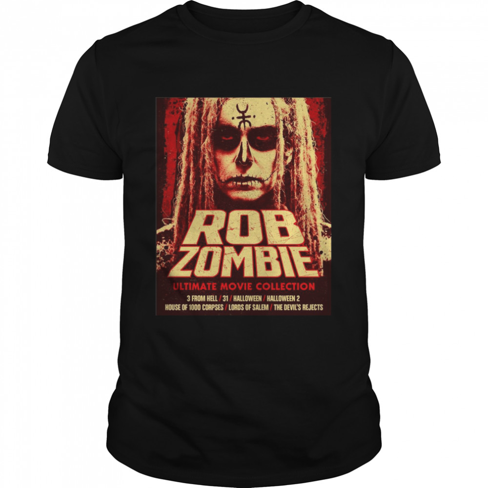 Rob Zombie Ultimate Movie Collection Halloween Shirt
