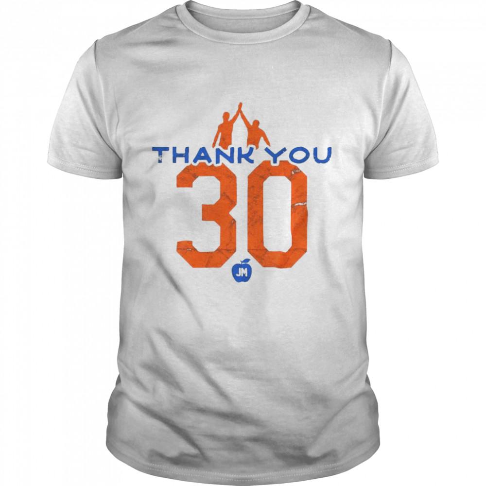 Thank You 30 JM Shirt